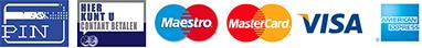 betalings methodes logos